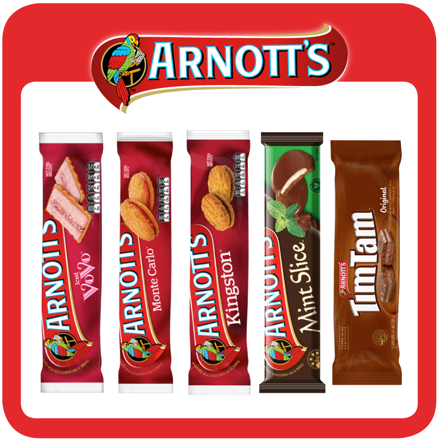 Arnott's Family Biscuits Showbag