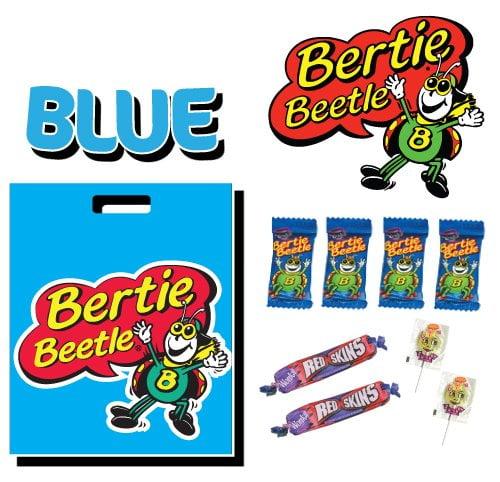 bertie beetle blue