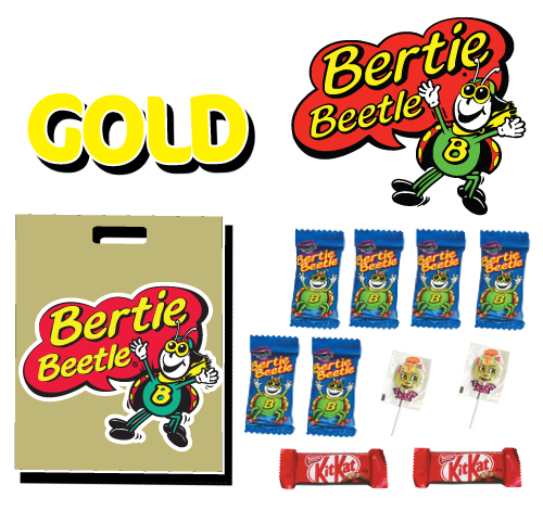 bertie beetle gold