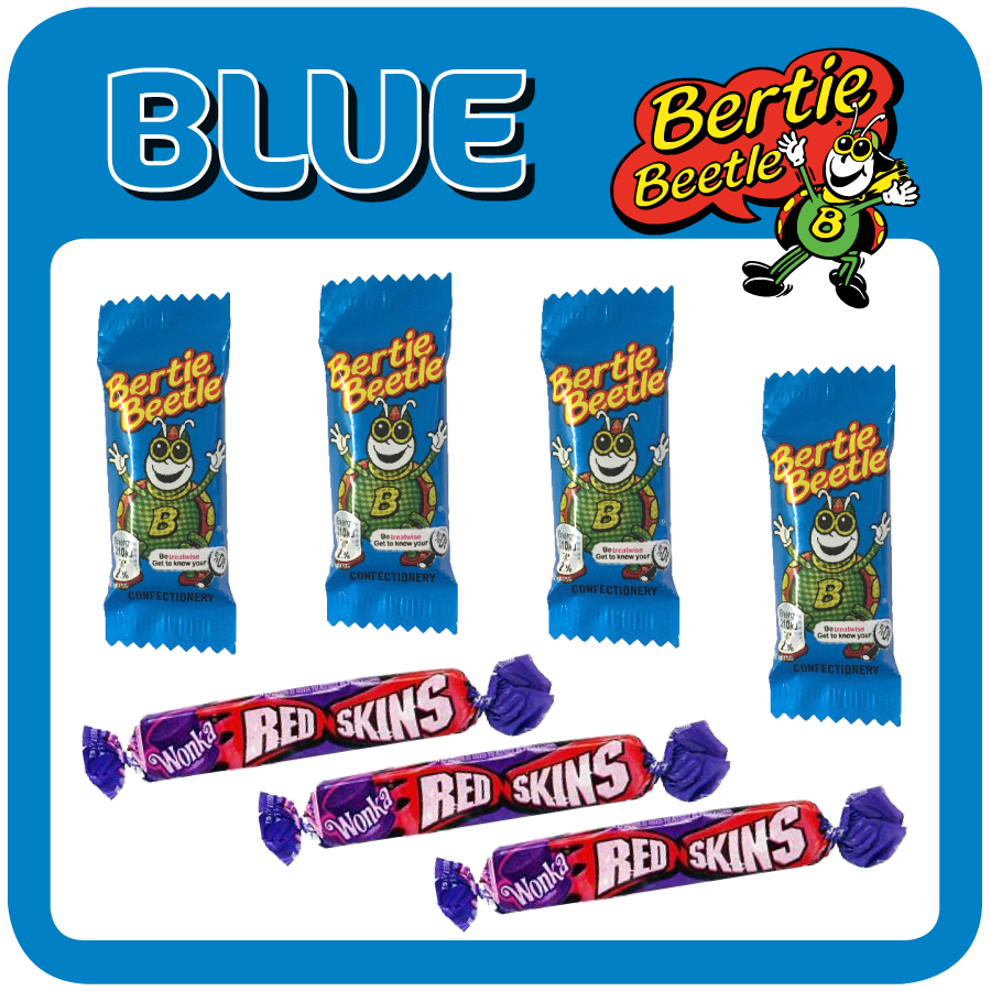 The iconic Bertie Beetle Blue is only $2