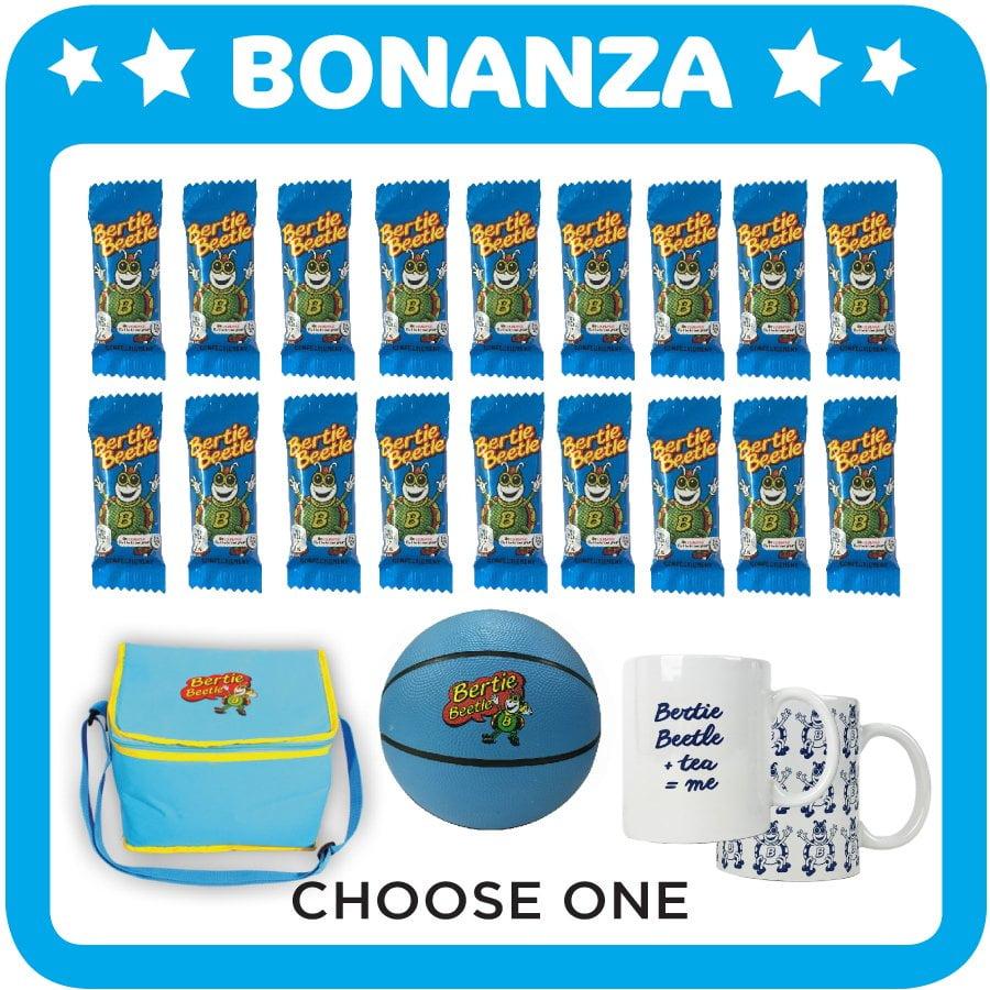 Bertie Beetle Bonanza Showbag