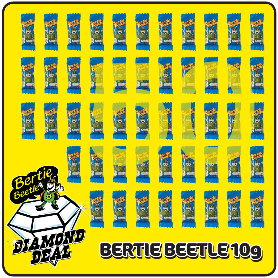 Bertie Beetle Diamond Deal for ultimate Bertie Beetle fans