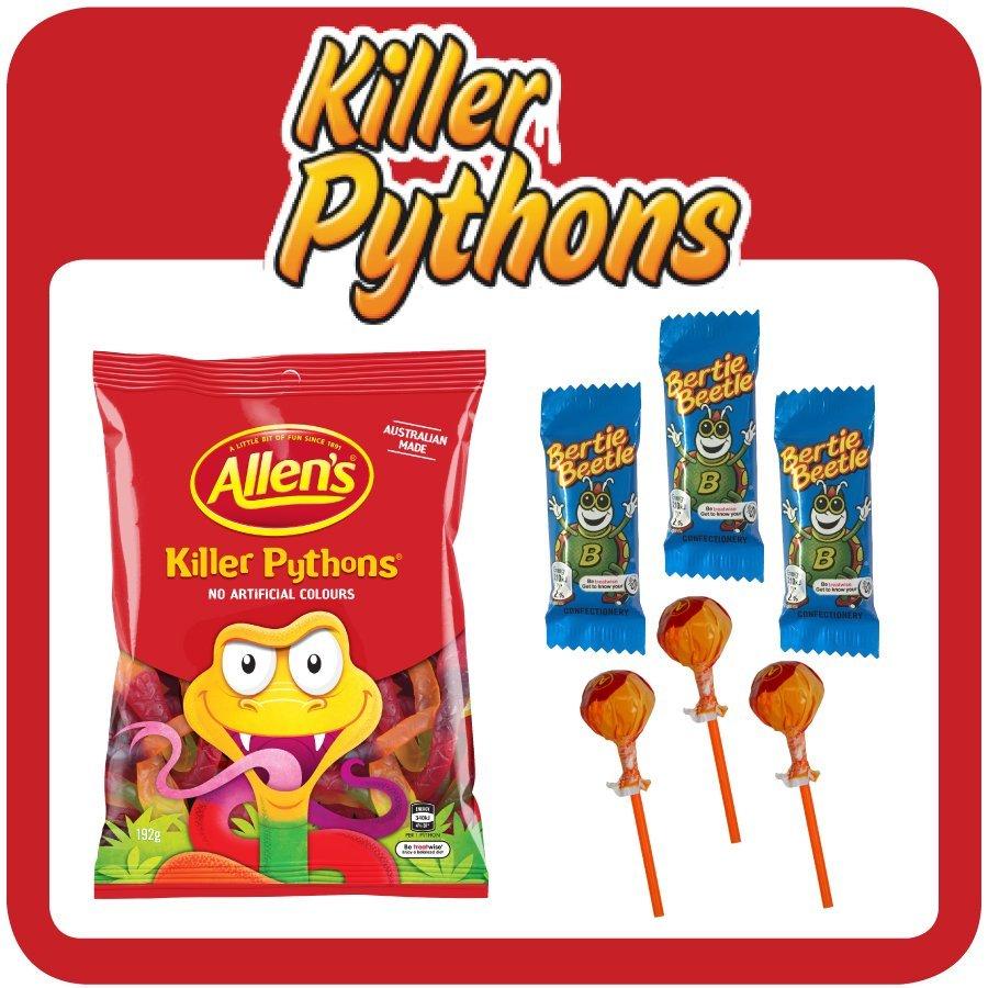 Killer Python $5 Showbag
