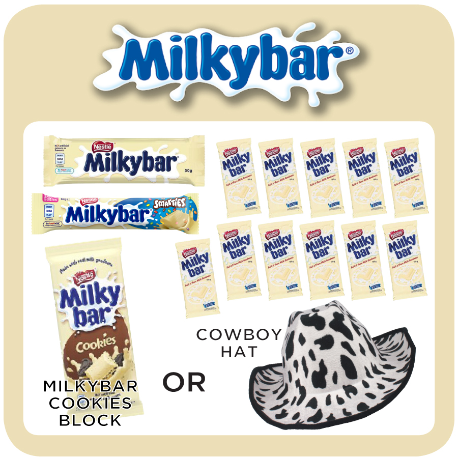 Milky Bar Showbag 2019