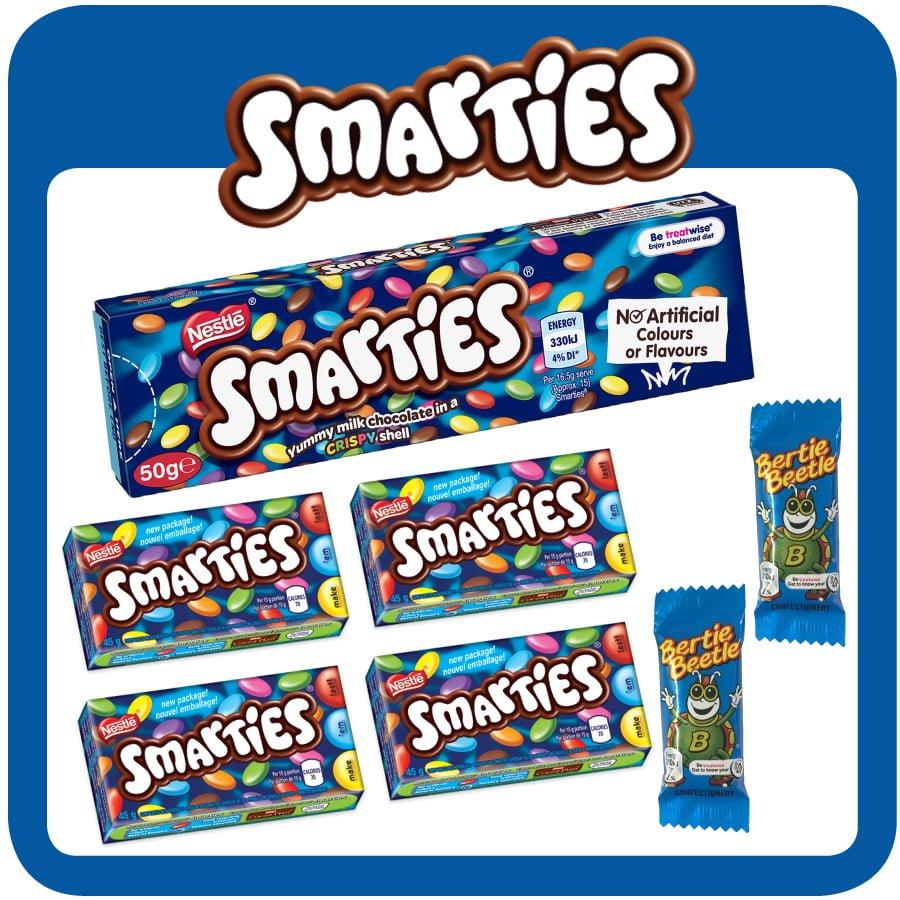 Smarties $5 Showbag
