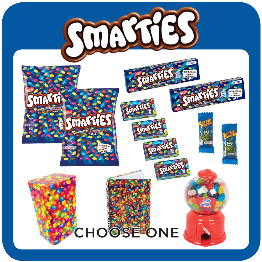 Smarties Showbag 2019