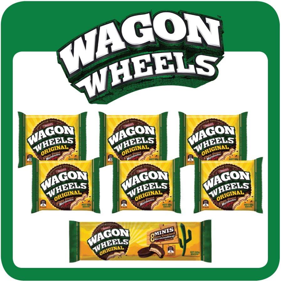 Arnott's Wagon Wheels Showbag