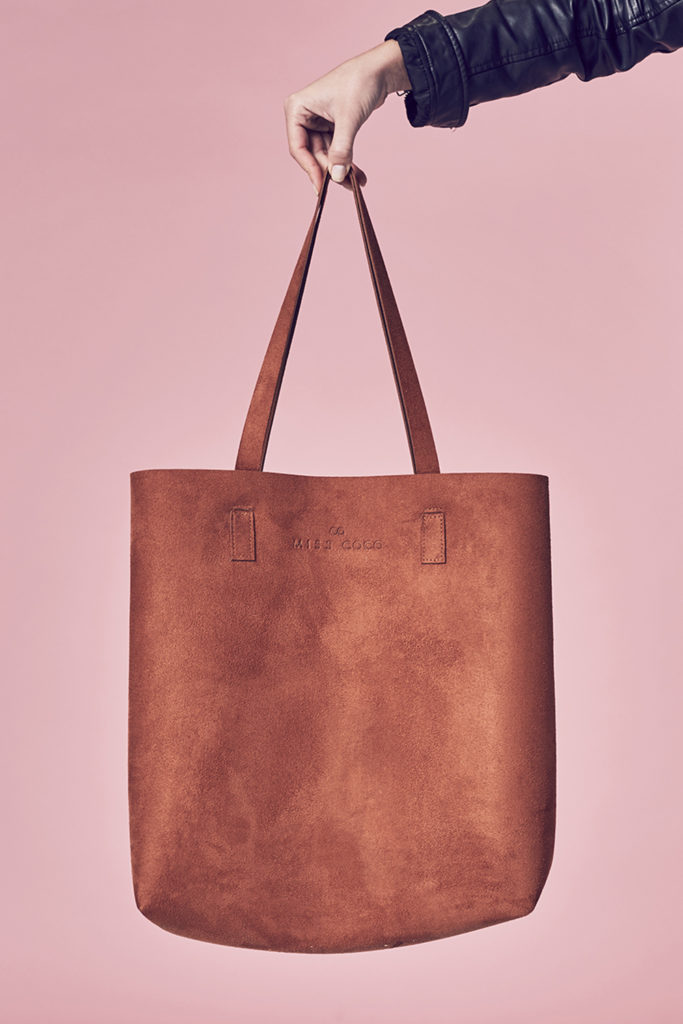 Suede-look Tote Bag