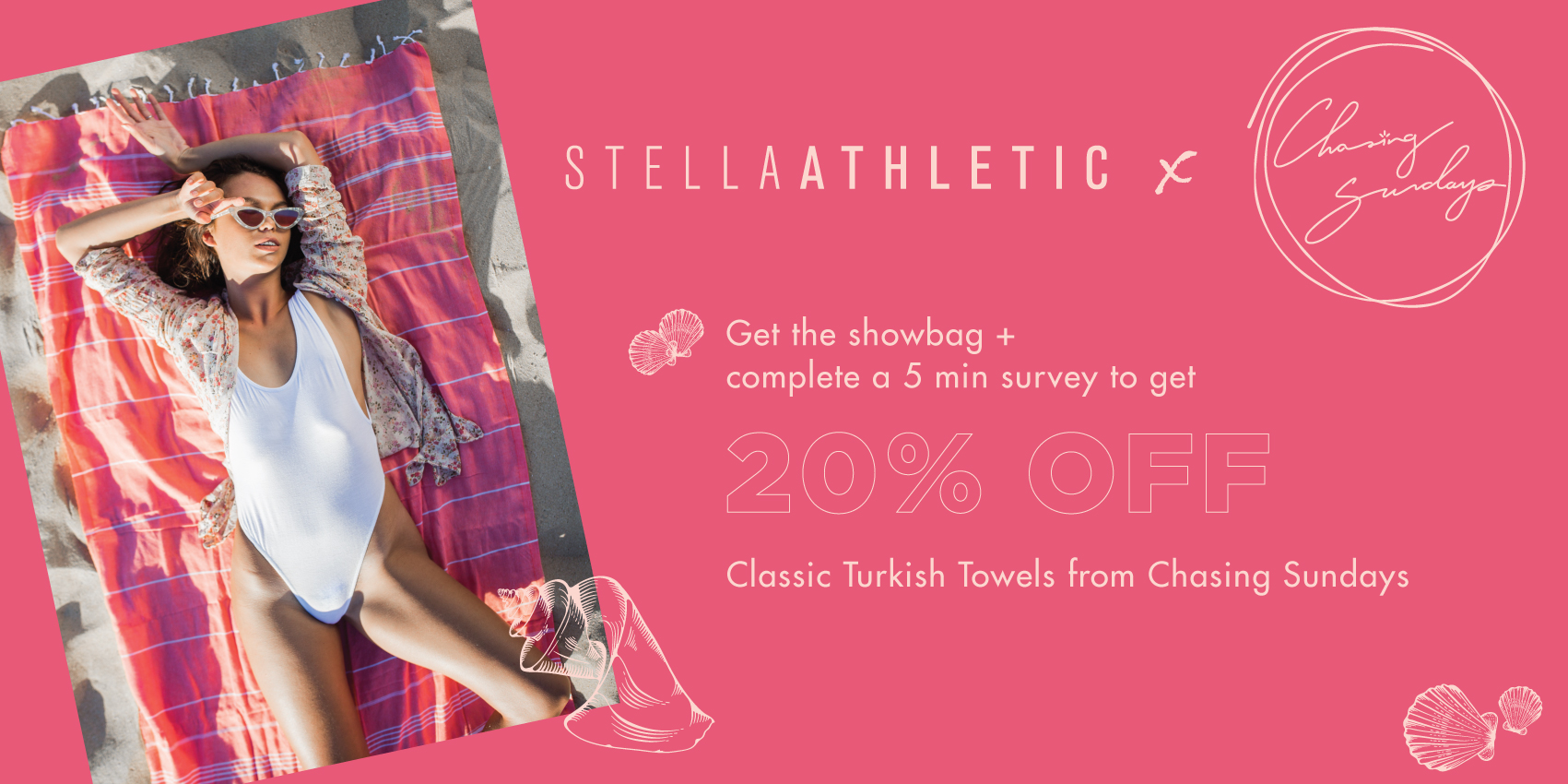 Chasing Sundays x Stella Athletic Special Offer