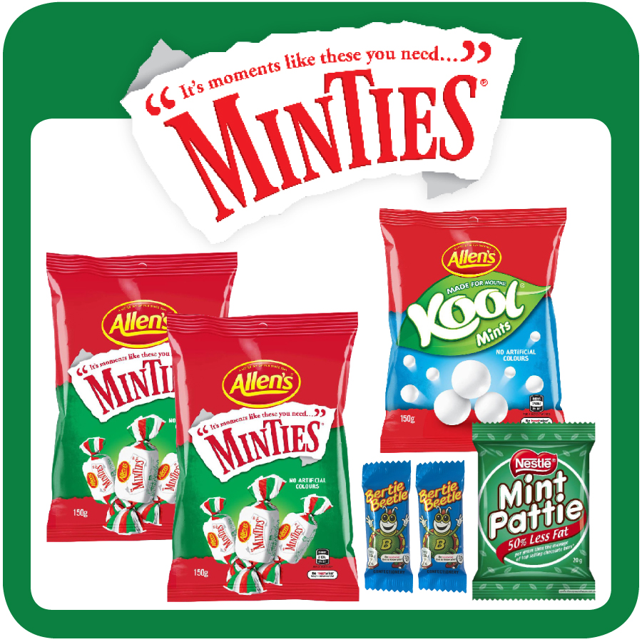 Minties Showbag 2019