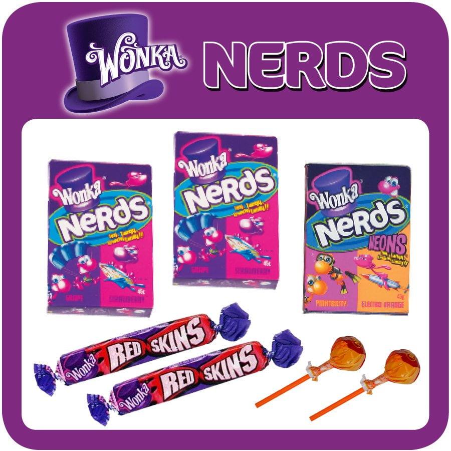 Wonka Nerds Showbag $5